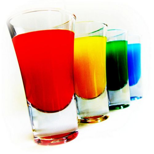 Shots Drinks E Coqueteis Pinterest Rainbow Shots