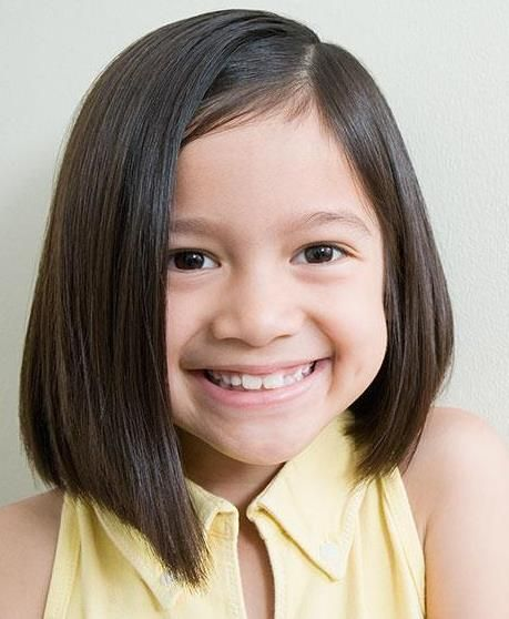 Angled Cut For Thin Hair Bob Hairstyles For Kids Maya S Hair In