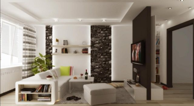 kleines wohnzimmer modern einrichten tipps und beispiele wohnzimmer pinterest. Black Bedroom Furniture Sets. Home Design Ideas