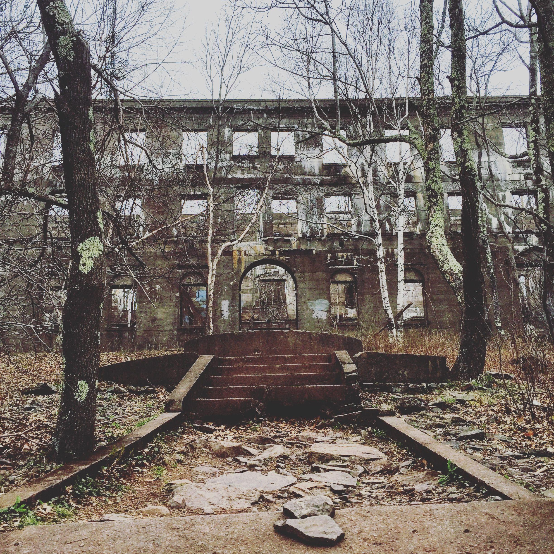 Overlook Mountain Trail Abandoned Hotel Woodstock Ny
