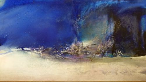 Pingl par colette moreau sur artiste peintre zao wou for Artiste peintre chinois