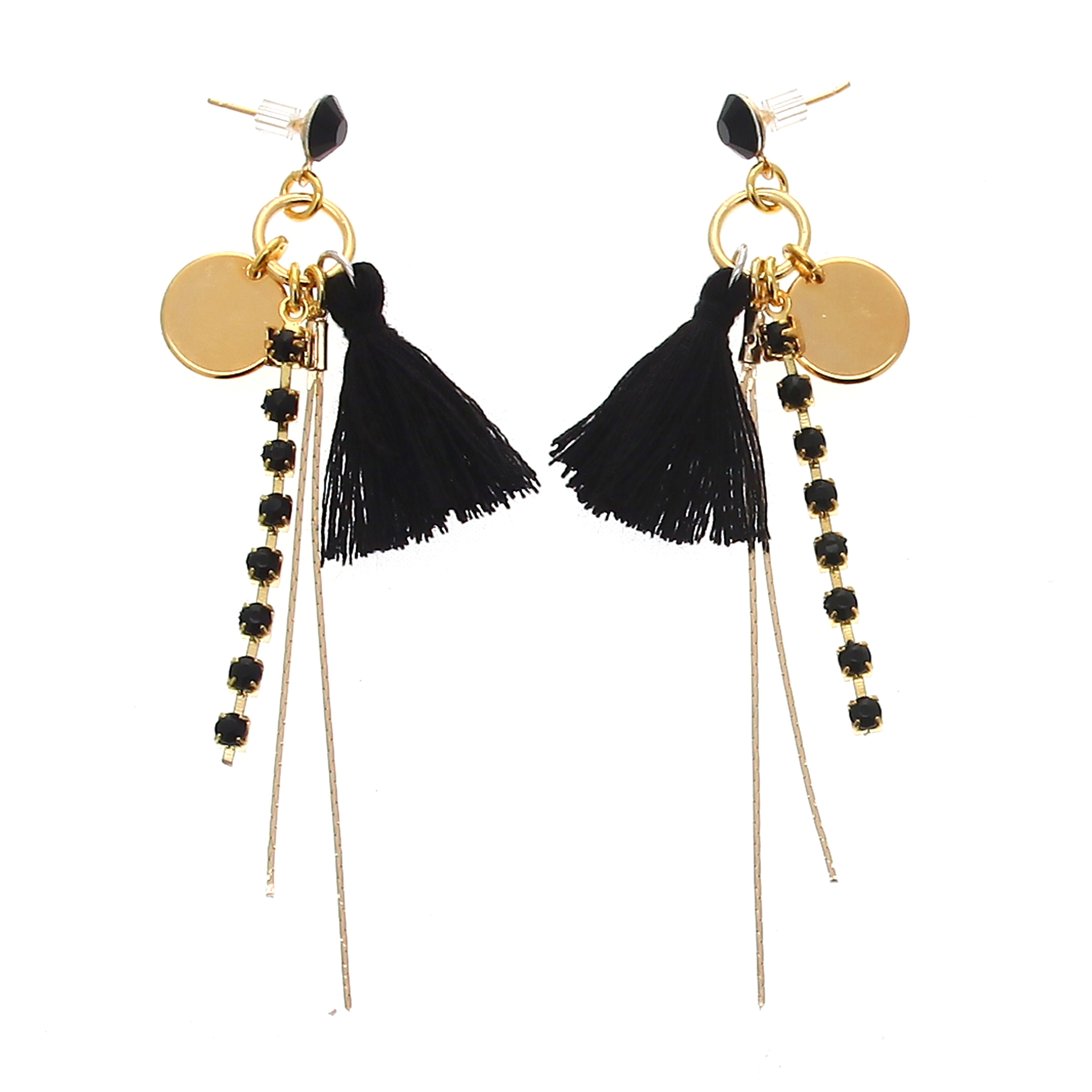 Boucles d/'oreilles pendantes à pampilles à choix de mode