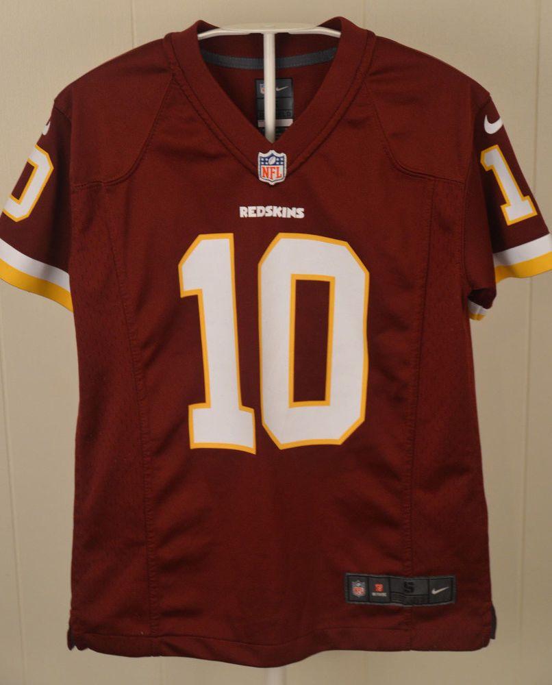 Nike Washington Redskins Jersey  10 Robert Griffin III NFL Youth Small (8)  RG3  Nike  WashingtonRedskins a16896fb1