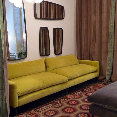 caravane canap mira 220 ou 250 3135 ou 3404 mustard sofa - Caravane Canape