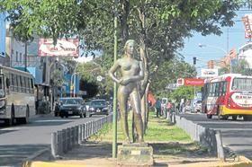 Este desnudo causó una tremenda conmoción en Resistencia, en 1961