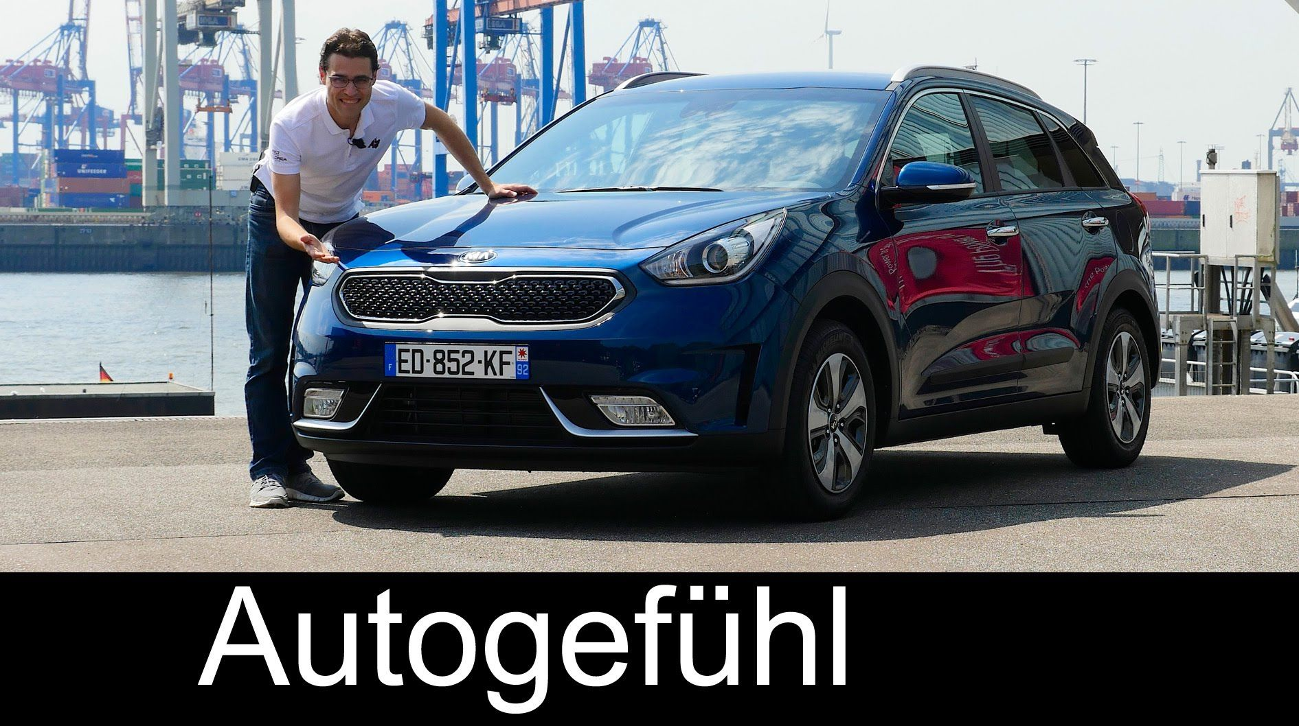Kia Niro Full Review Test Driven All New Hybrid Crossover Neu 2017 Aut Hybrid Crossover Kia Driving Test