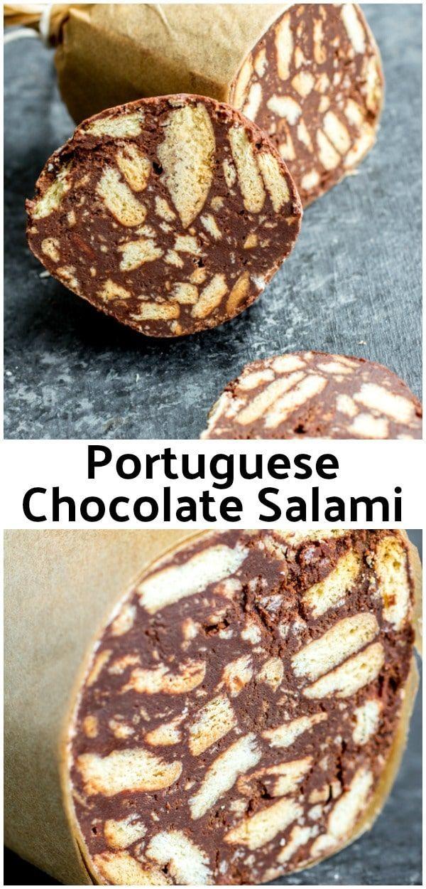 Photo of Portuguese Chocolate Salami {Salame de Chocolate}