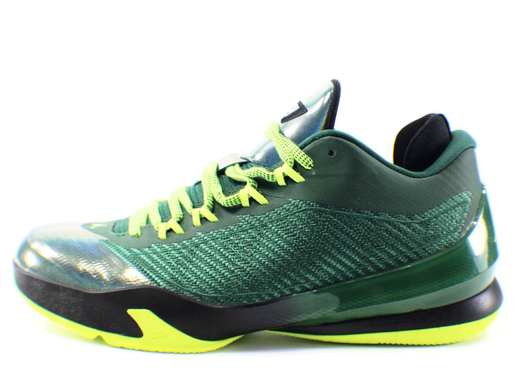 NIKE Air Jordan CP3.VIII Basketball Shoes (Volt Green/Black)