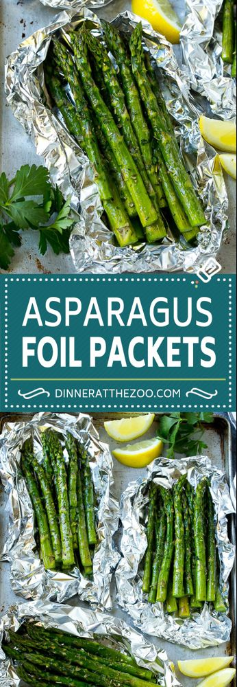 Photo of Grilled Asparagus in Foil