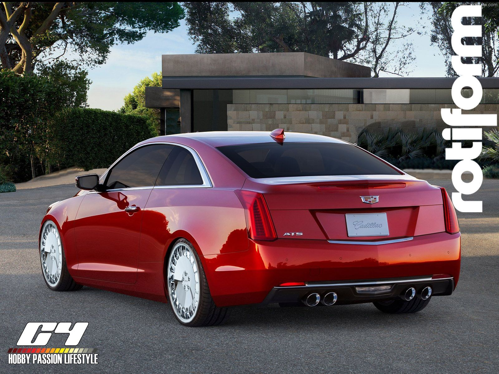 Cadillac Ats Coupe Custom Cadillac Caddy Gm Ats Rotiforms