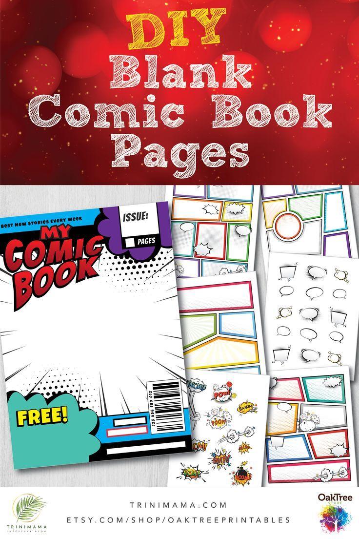 17+ Comic book template pdf free info