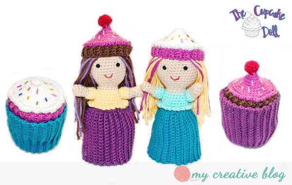 Cupcake Doll Crochet Pattern My Creative Blog Crocheting