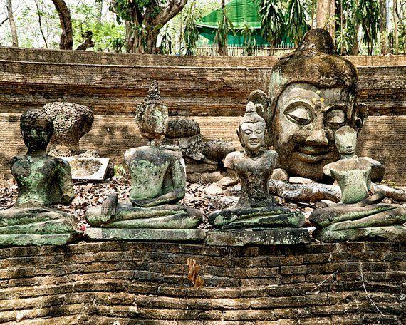 Buddha Wall Art, Buddha photography, Asia Wall Decor, Travel photography, Buddha Print, Asia Photogr #buddhadecor