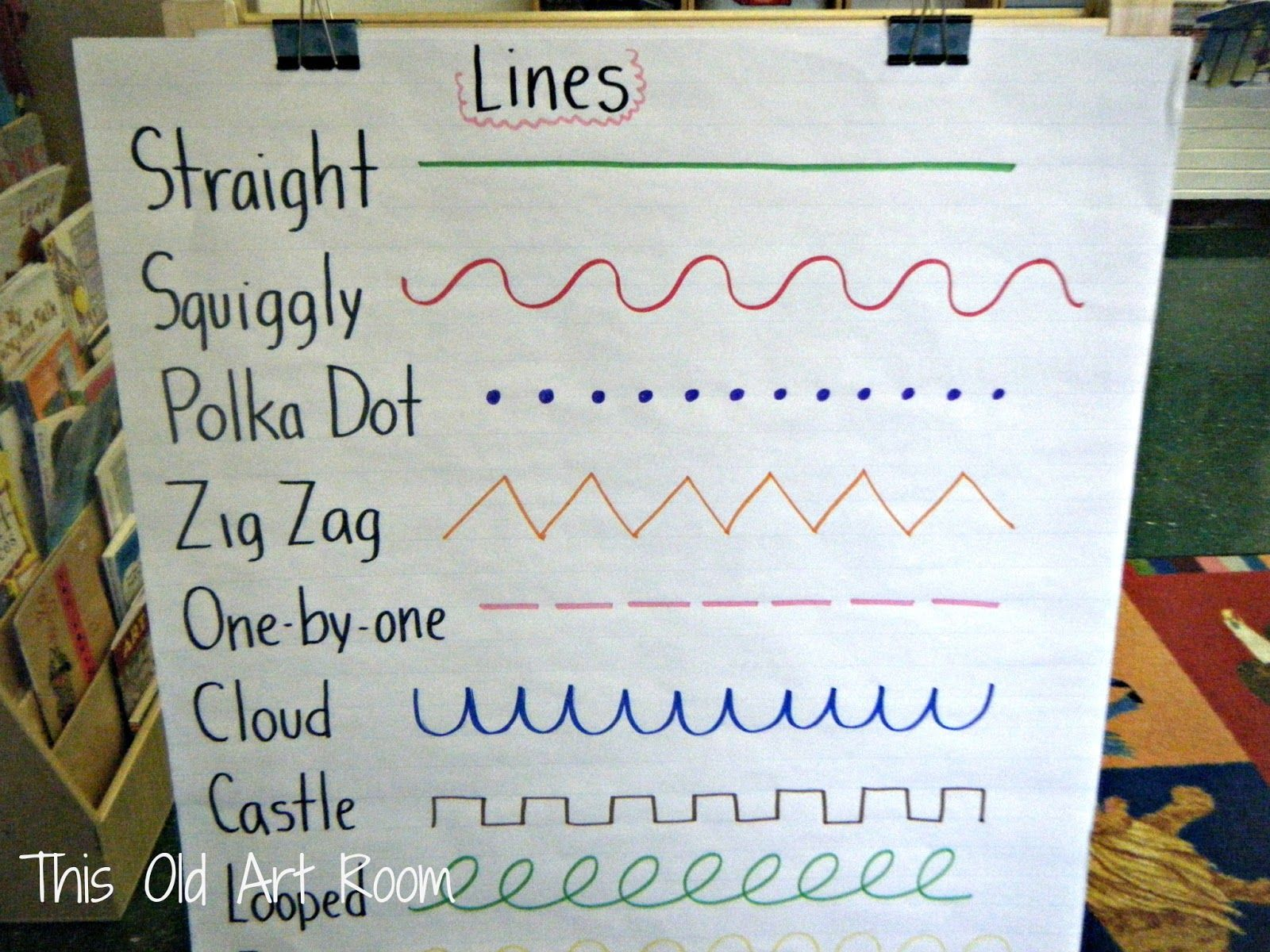 Used this idea with the KG1's for our line murals. Made ...