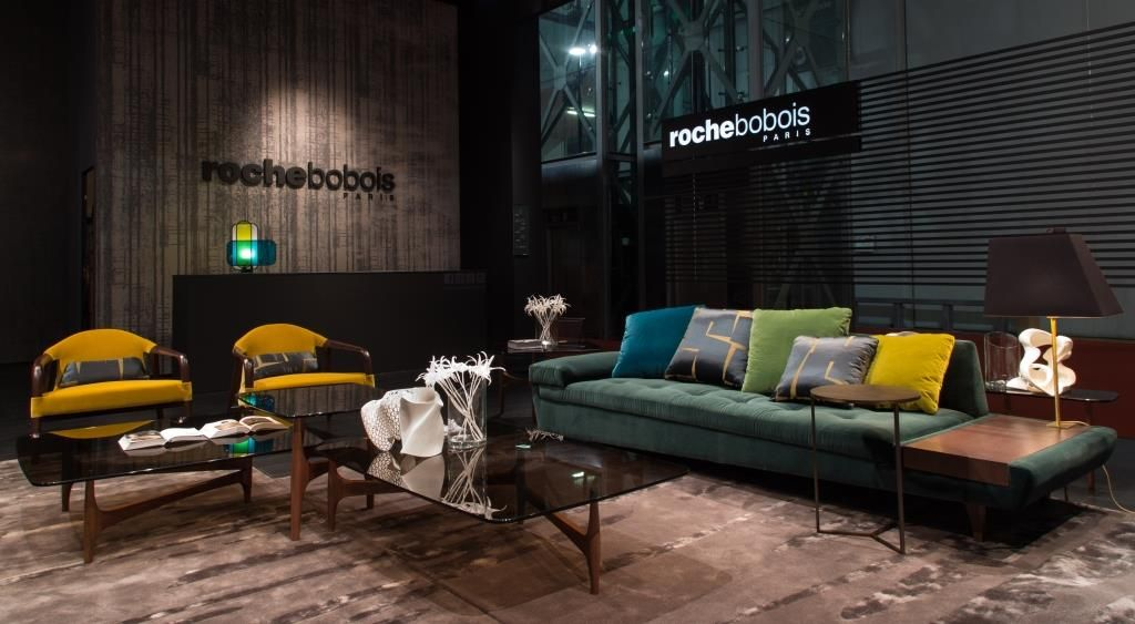 Salone Arredamento ~ Roche bobois at the salone del mobile maya cocktail tables