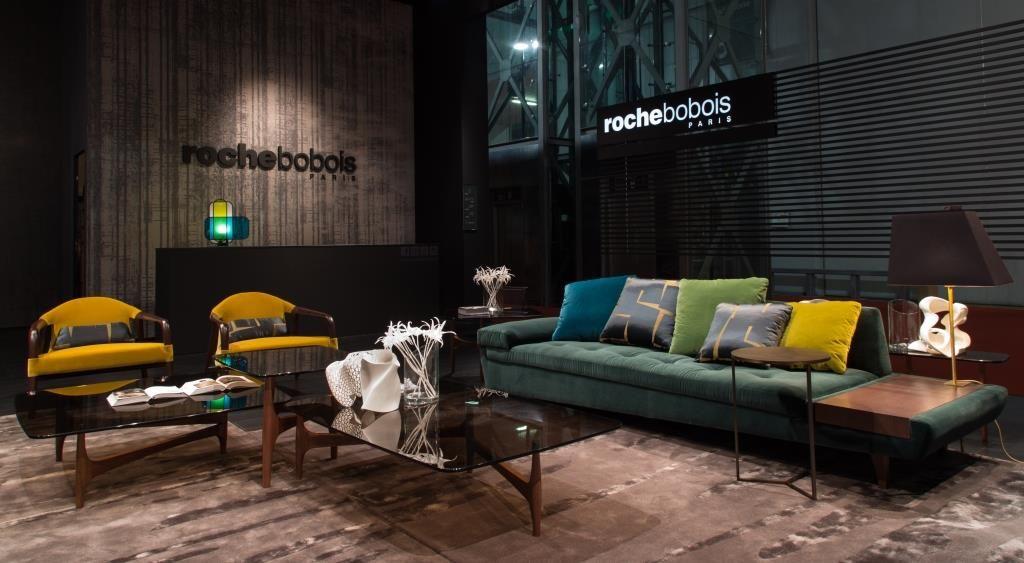 roche bobois at the salone del mobile maya cocktail. Black Bedroom Furniture Sets. Home Design Ideas