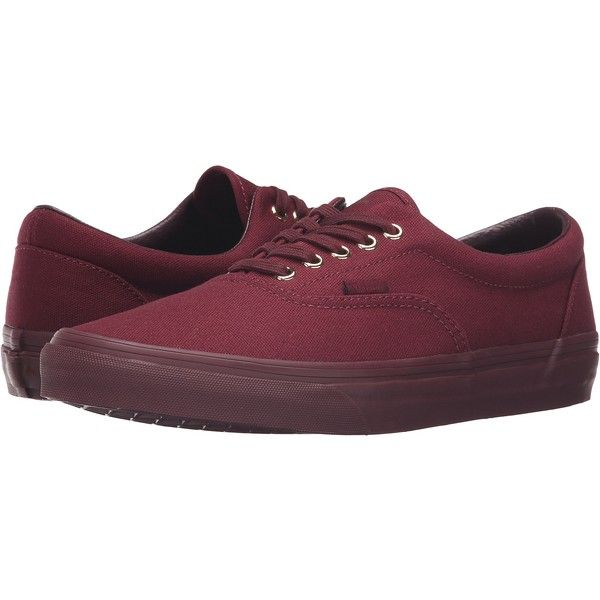8b8ce41619 Vans Era ((Gold Mono) Port Royale) Skate Shoes ( 40) ❤ liked on Polyvore  featuring shoes