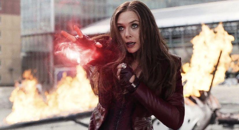 Pin By Devin Degrassie On Captain America Civil War In 2020 Scarlet Witch Scarlet Witch Marvel Elizabeth Olsen