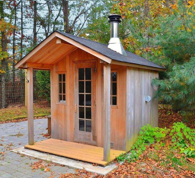 Outdoor Sauna, Sauna