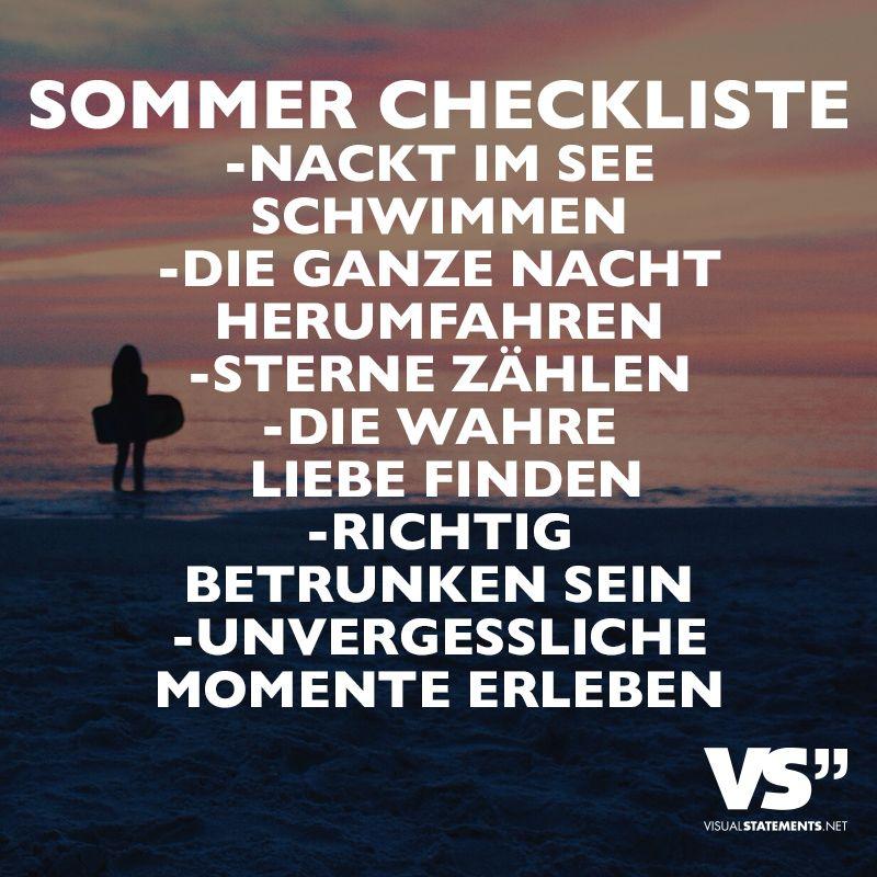 Sommer Checkliste Nackt Im See Schwimmen Die Ganze Nacht
