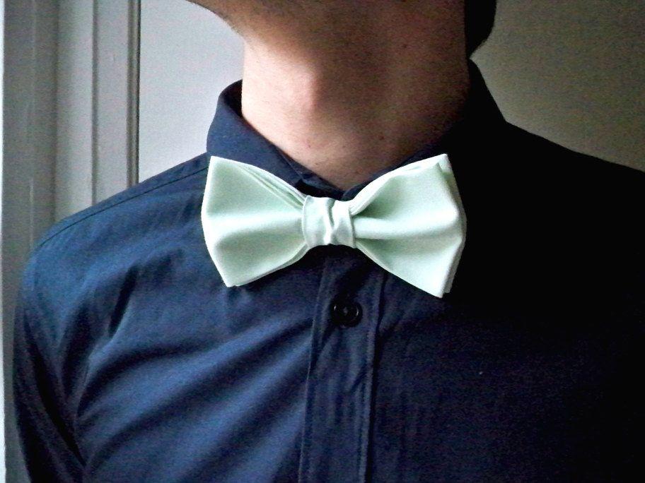 Sea Foam Green Bow Tie | Rags & Such | Pinterest | Green ...