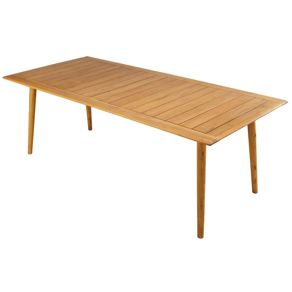 Table De Jardin 8 Personnes En Acacia Massif Frejus Maisons Du Monde En 2020 Table De Jardin Acacia Massif