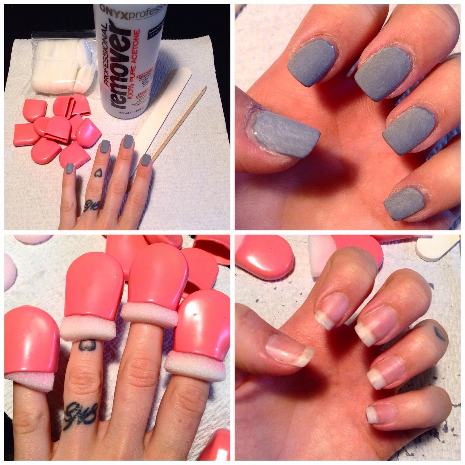 Diy Gel Nail Removal Gel Nail Tutorial Gel Nail Kit Gel Nail