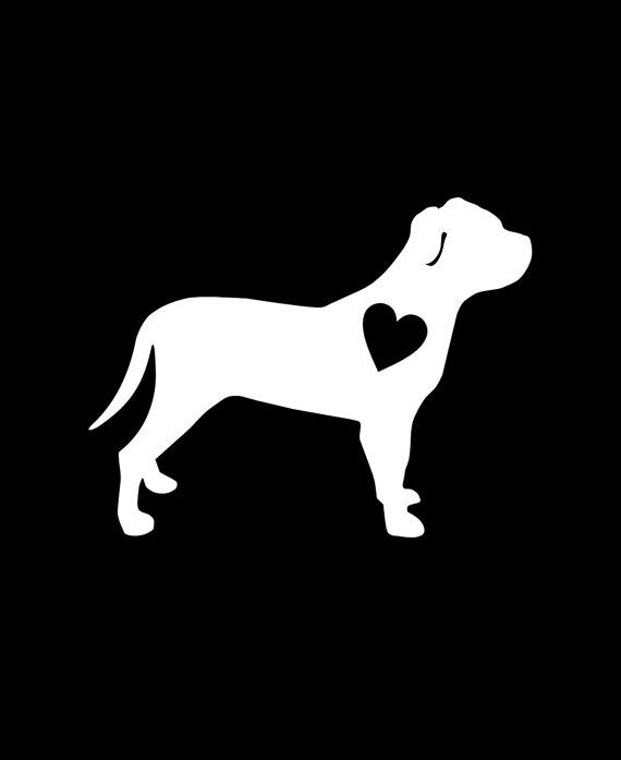 wall laptop dog Vinyl Sticker Whippet Silhouette Heart Car Window Decal