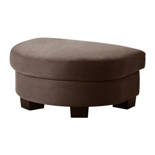 Polsterhocker Ikea tidafors footstool better color in this photo med brn 180