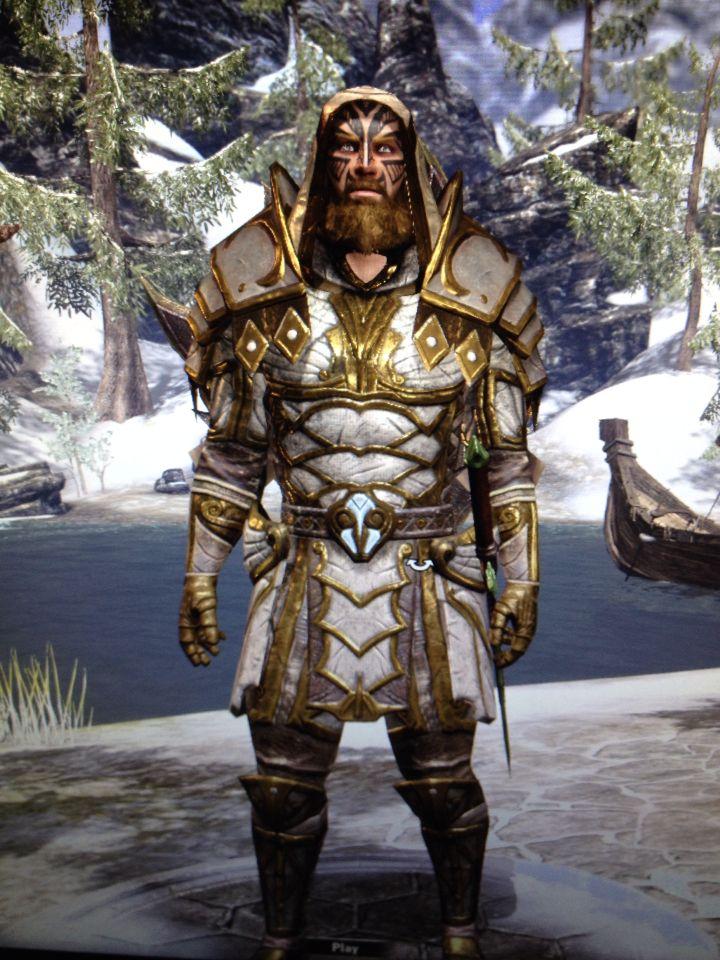 My Templar Eso Skyrim Elder Scrolls Warrior