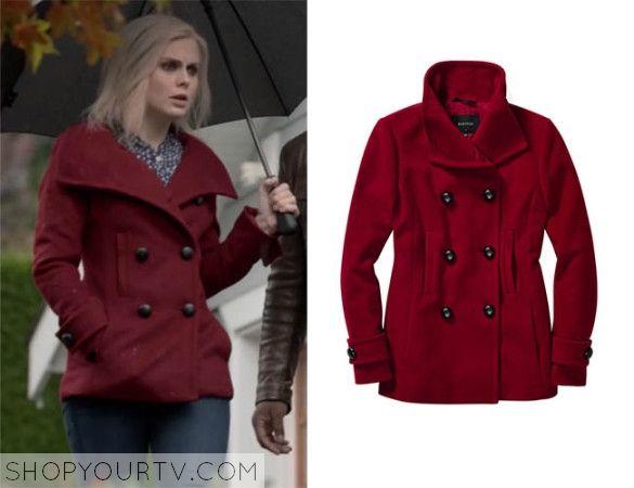 iZombie: Season 1 episode 7 Liv's red pea coat | TV Show Fashion ...