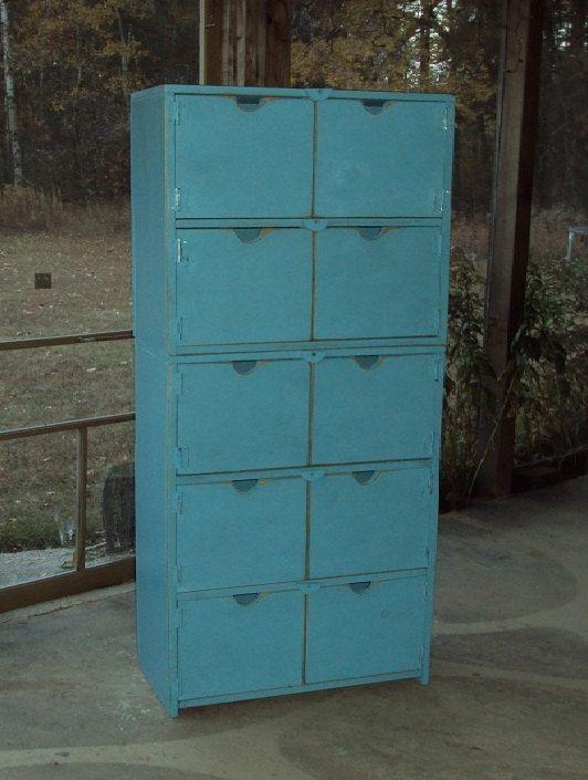 60 Inch Tall Reclaimed Wood Dresser Primitive Storage