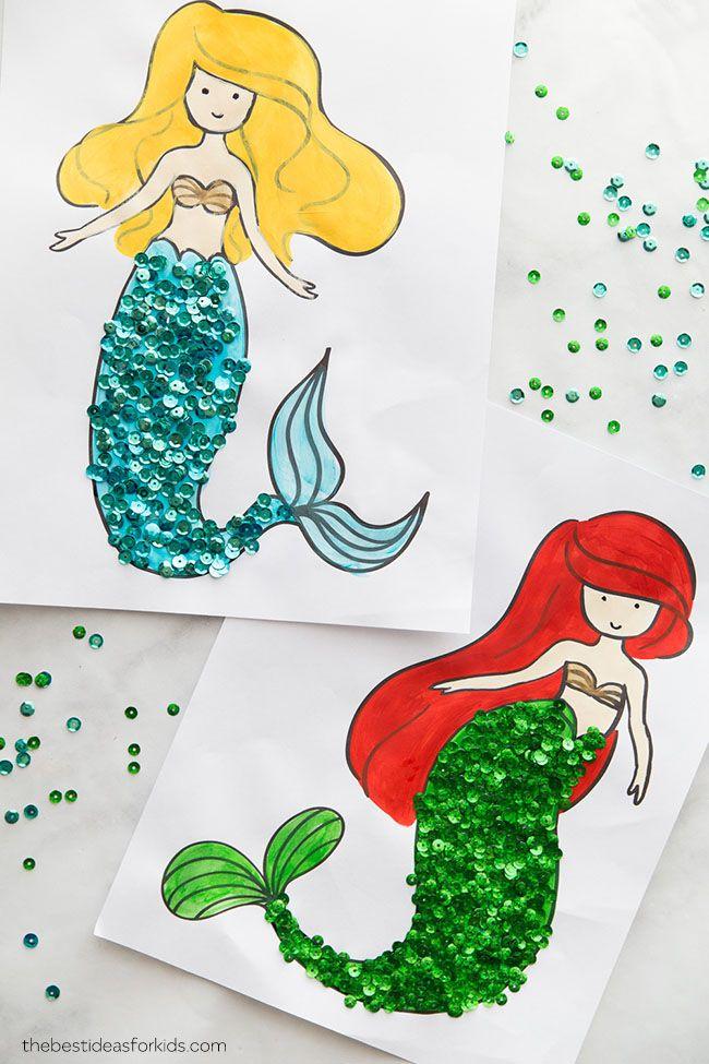 Mermaid Coloring Pages | Mermaid coloring pages, Mermaid ...
