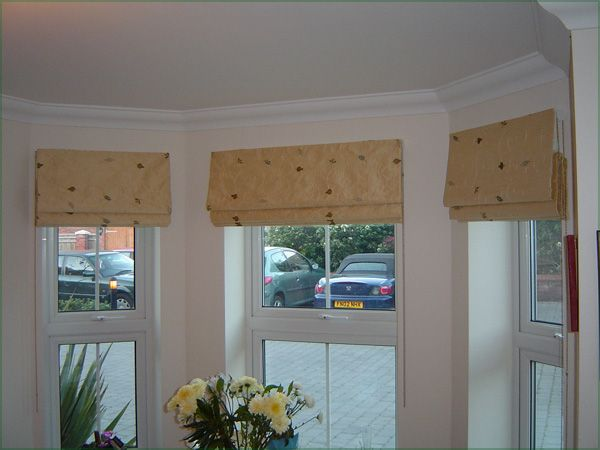 Curtain bay window idea home design ideas homedezigner - Blackout curtains for master bedroom ...