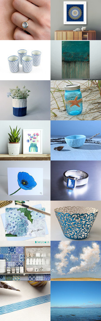 Blue Trends for March by Shelly Okun on Etsy--Pinned+with+TreasuryPin.com