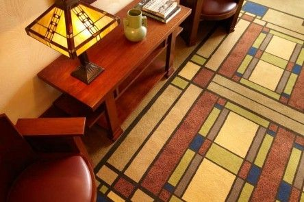 Frank Lloyd Wright Area Rugs With