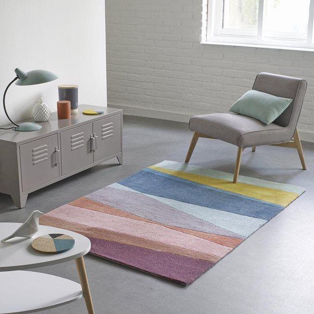 tapis tuft pur coton ivo la redoute interieurs prix avis notation livraison look r tro. Black Bedroom Furniture Sets. Home Design Ideas
