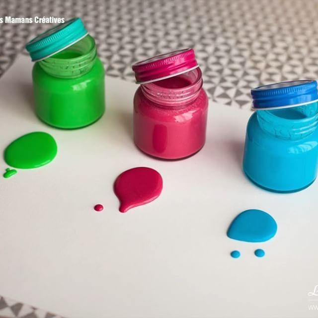 DIY / TUTO Bébé : Comment faire de la peinture maison - La ...