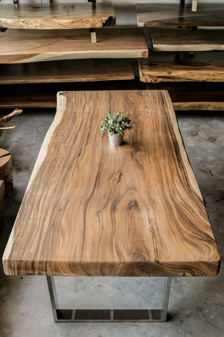 Suar Table Top X Herman Furniture Singapore Coffee Table Wood Coffee Table Design Wood Slab Table