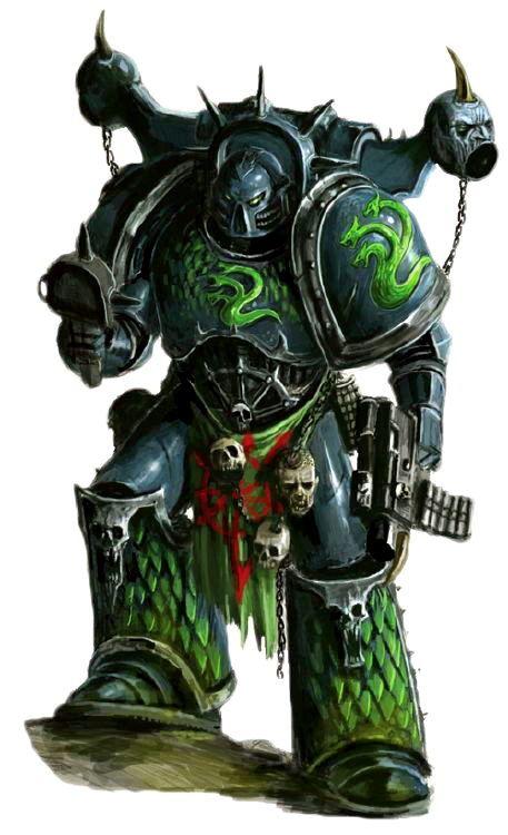 alpha legion space marines