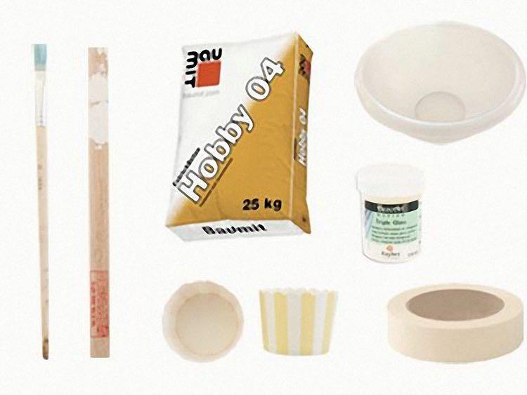 Tutoriales DIY: Cómo hacer un soporte de cemento para huevos vía ...