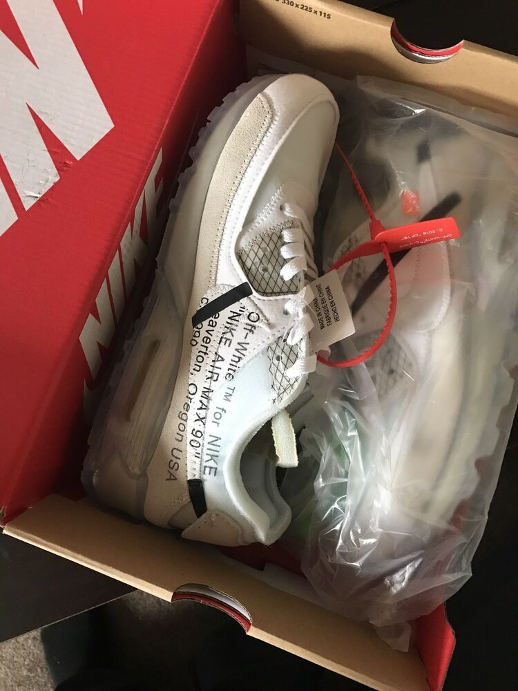 cbaa48d4cc AUTHENTIC BRAND NEW - NIKE AIR MAX 90 OFF-WHITE SIZE 9 and SIZE 11 #fashion  #clothing #shoes #accessories #mensshoes #athleticshoes (ebay link)