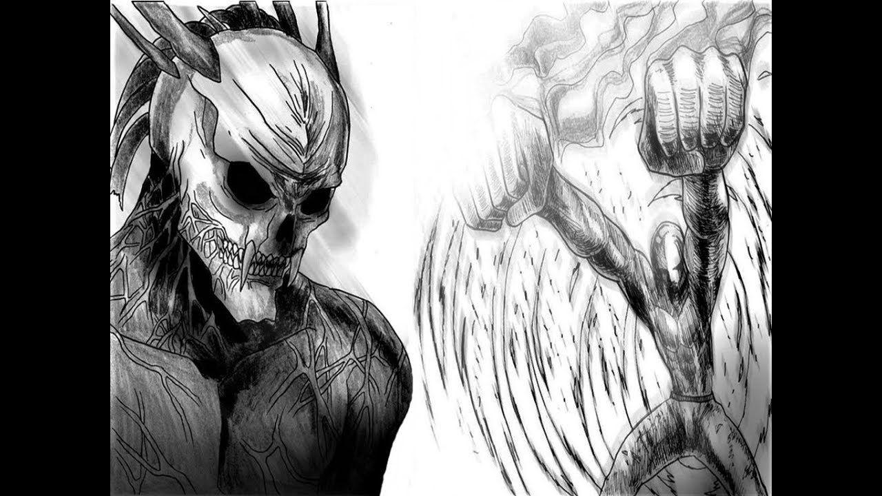 One Punch Man Saitama Vs Monster GOD - Chapter 202 | MANGA ...