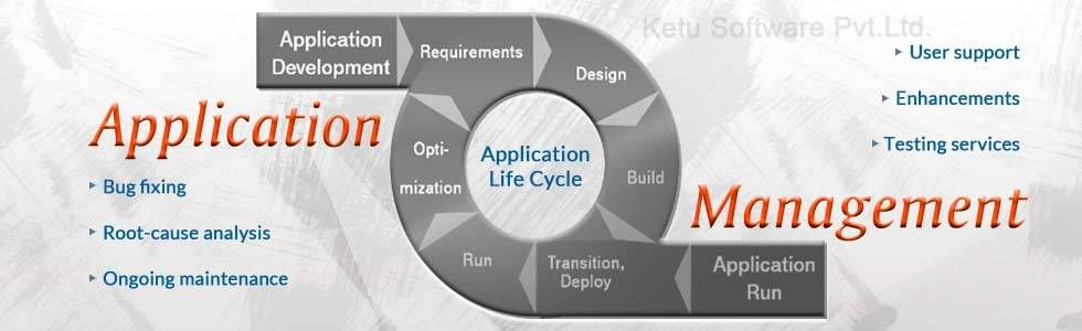 We offer application management services which successfully solves enterprise application problems. Application management testing include bug fixing, error analysis, rout cause analysis.