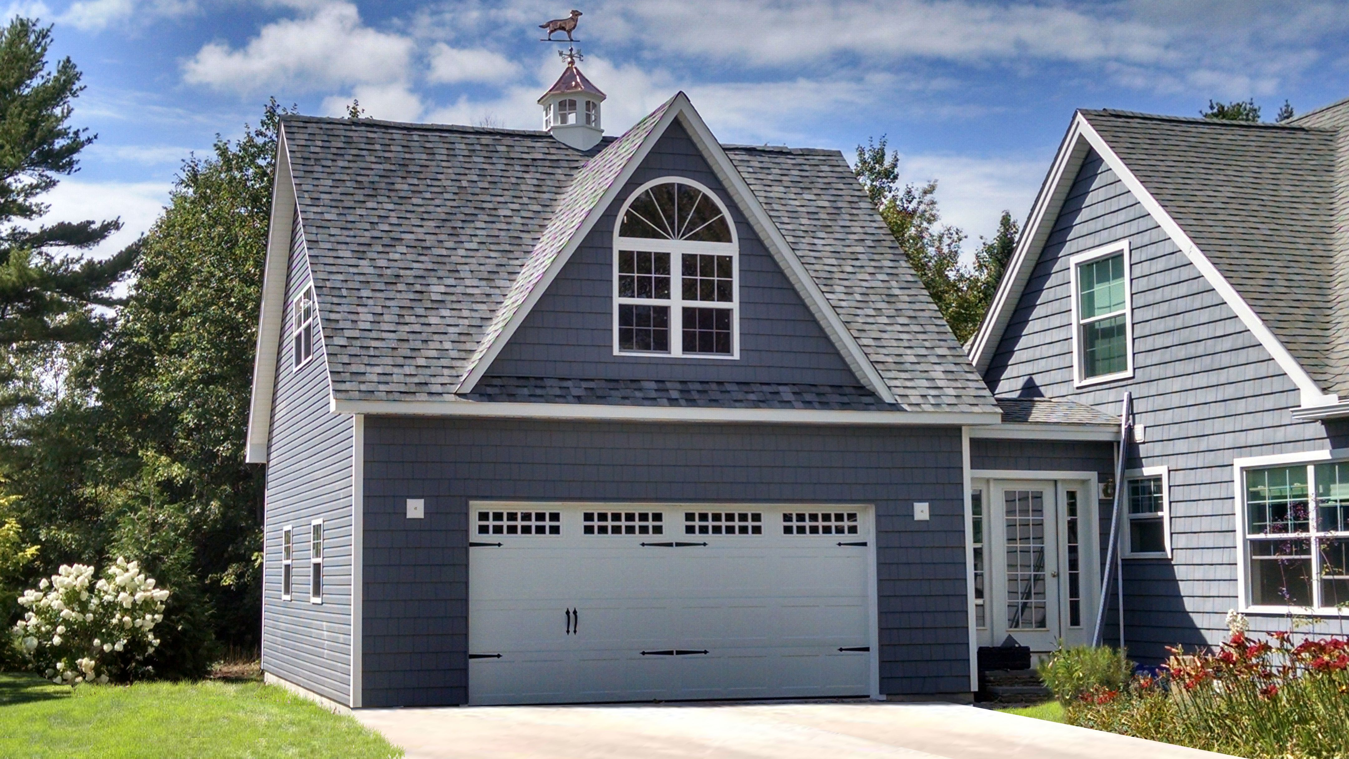 A 24x24 Legacy Two Car Two Story Garage in Maine. Buy this ...