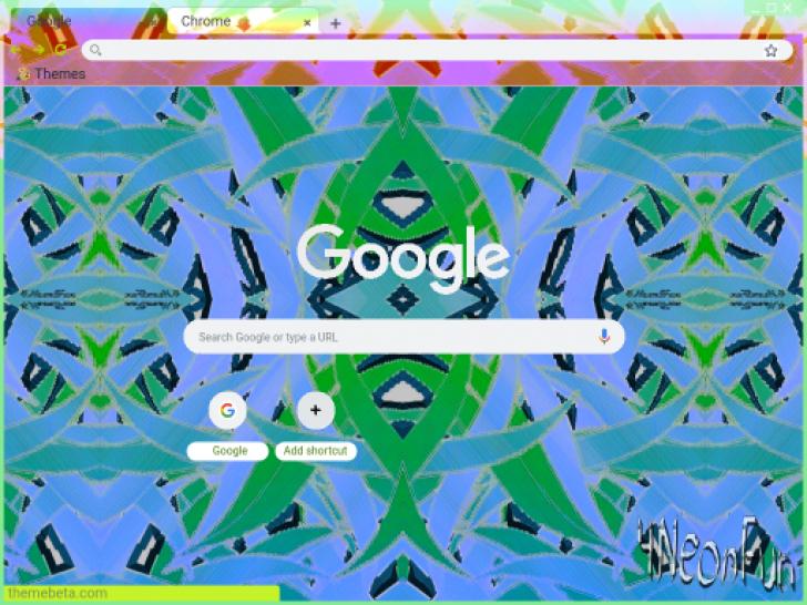 Salica Chrome Theme - ThemeBeta   4NeonFun   Chrome, Google