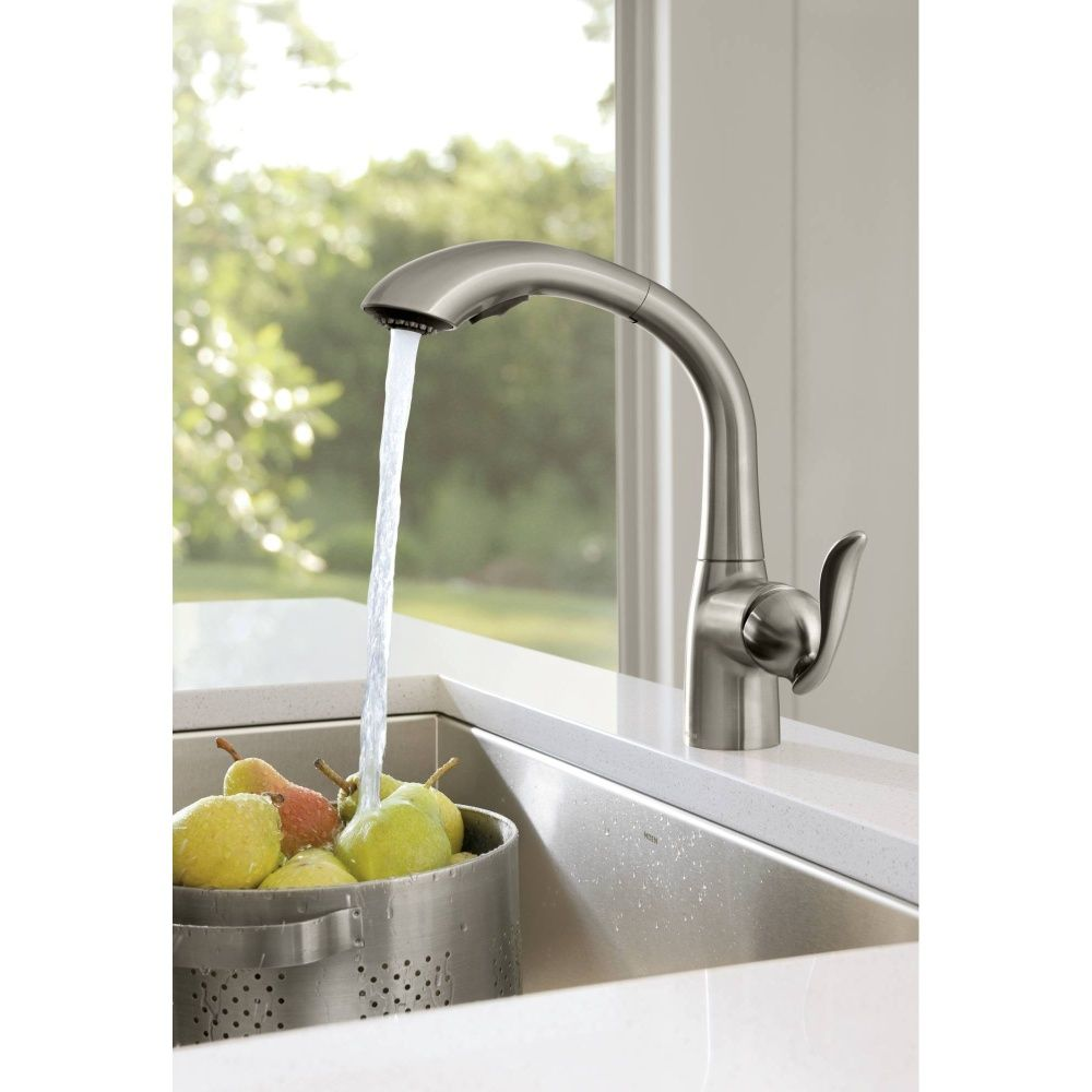 Arbor Spot Resist Stainless One Handle