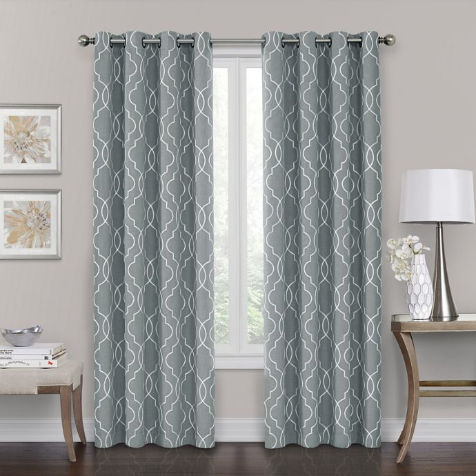 Brent Grommet 100 Blackout Window Curtain Panel Bed Bath Beyond Panel Curtains Curtains Living Room Window Curtains