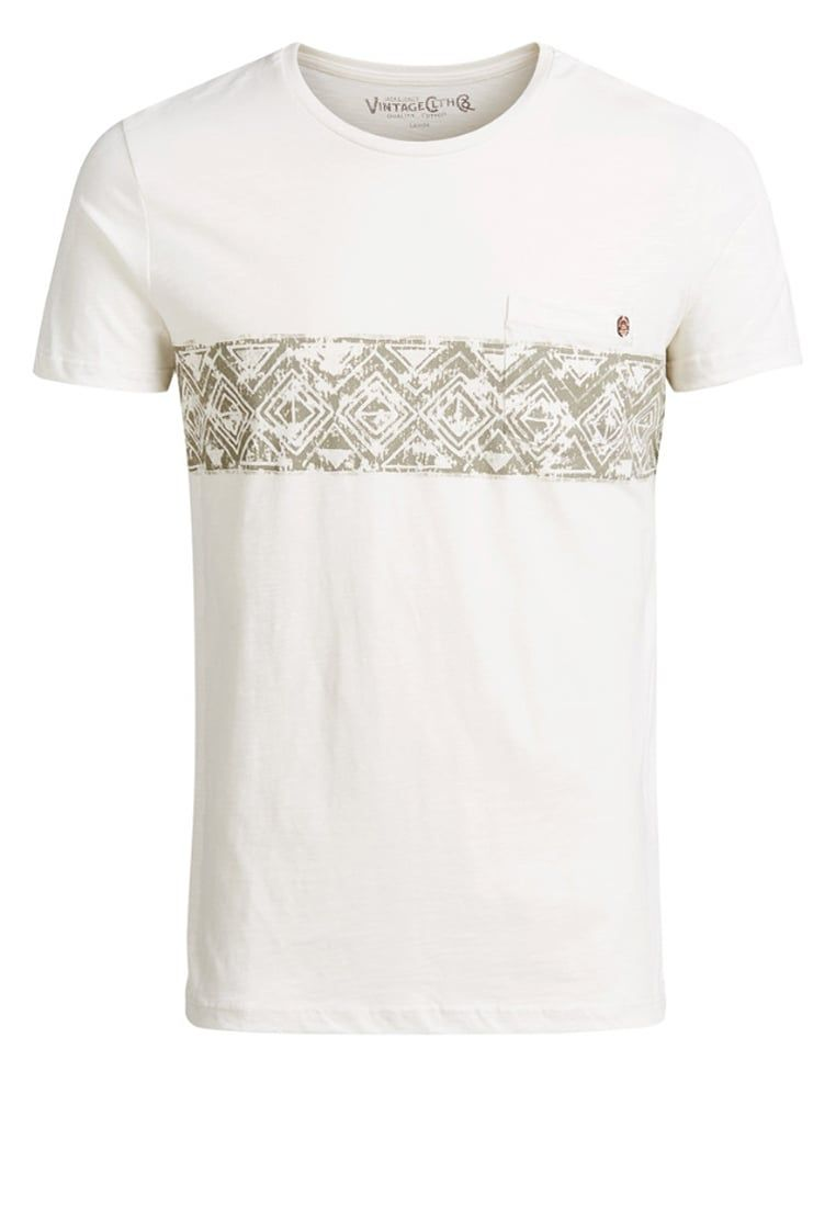Jack & Jones T-Shirt print - cloud dancer für 19,95 € (10.07.16) versandkostenfrei bei Zalando bestellen.
