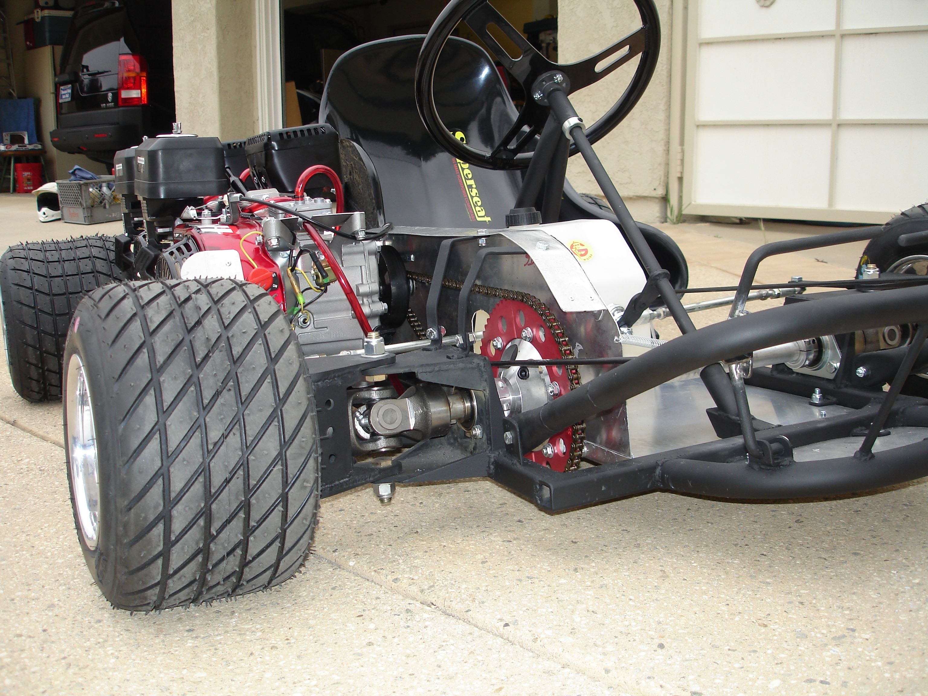 The first ever AWD go kart. We hope to see more attempts at this ...